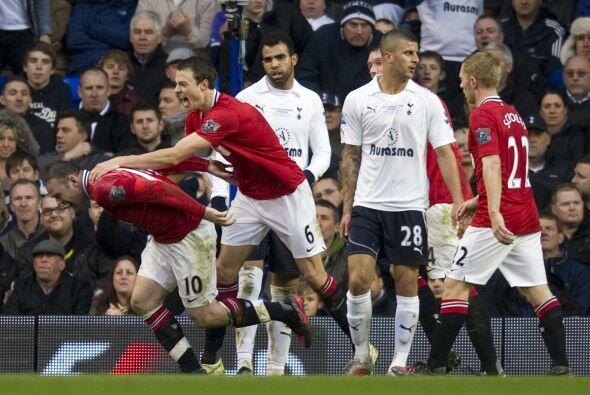 El tercer tanto del United fue lo único que necesitaba el Tottenham para...