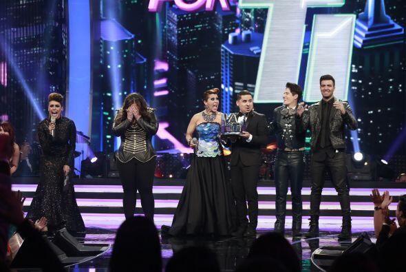 Galilea anunciaba que Yazaira era la ganadora de Va Por Ti.