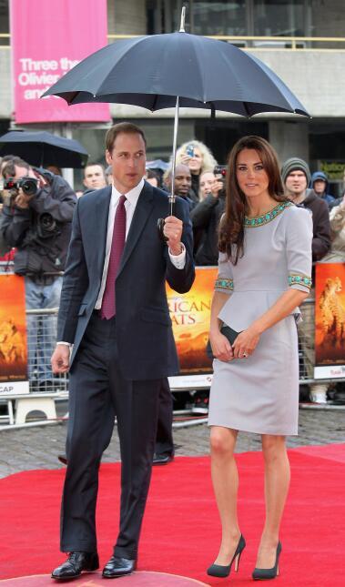 Ésta fue la primera vez que Kate usó el atuendo.