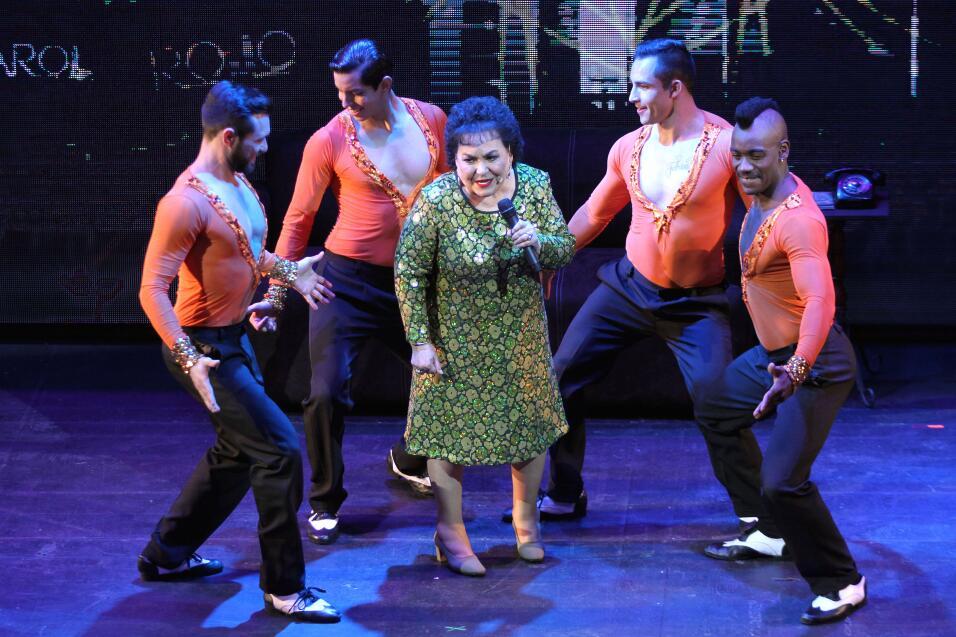 La legendaria actriz Carmen Salinas regresó en esta tercera temporada de...