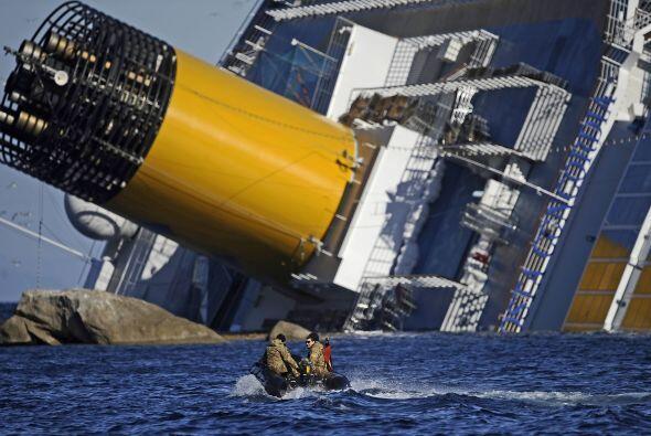 A raíz del accidente del lujoso crucero Costa Concordia, encallad...