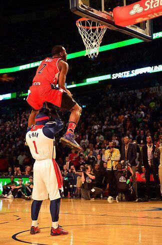 2014 - John Wall  de los  Washington Wizards ganó el concurso del 2014 c...