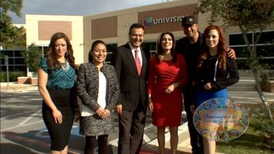 ¡Visita las instalaciones de Univision y conoce a sus talentos!