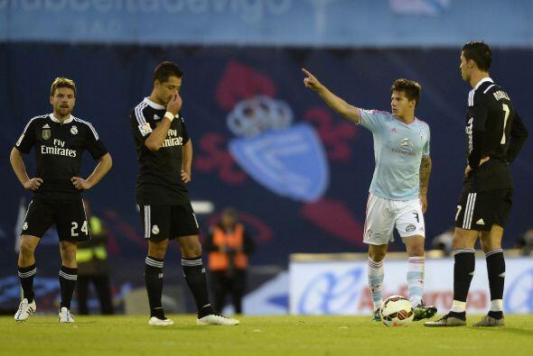 Pese al abultado marcador, Real Madrid se vio soprendido en el marcador...