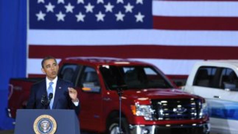 El presidente Barack Obama anunció que para 2025 los autos deberán tener...