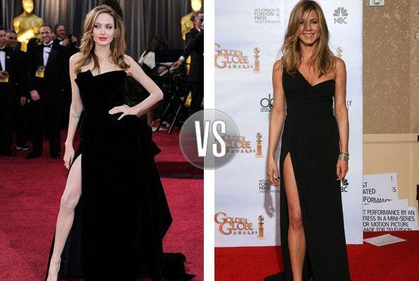 Aunque Jolie haya puesto de moda la provocativa pose para presumir piern...