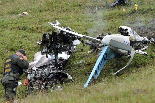 La Aerocivil indicó que el avión era un Cessna 206 de matrícula HK2933 y...