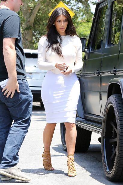 Y ni hablar de Kanye, el rapero asegura que su mujer es la mejor vestida...
