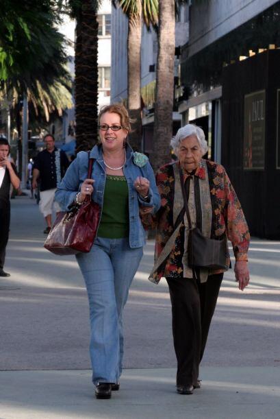 La salud de la abuelita, doña Eva Mange, ha sido otro tema de constantes...