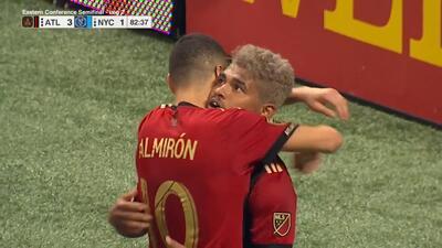 Para Miguel Almirón y Josef Martínez es algo histórico que Atlanta esté en la final de Conferencia