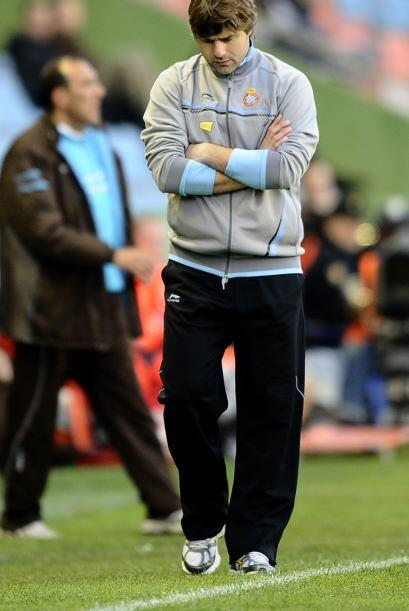 El Director Técnico argentino del Espanyol Mauricio Pochettino ya piensa...
