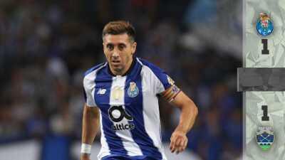 Con Herrera y Corona titulares, Porto iguala 1-1 con el Chaves por la Copa