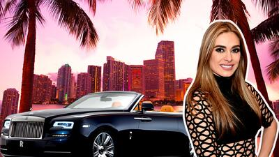 Galilea Montijo vs Rolls Royce
