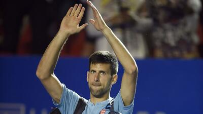 La despedida de Novak Djokovic del Abierto Mexicano de Tenis en imágenes