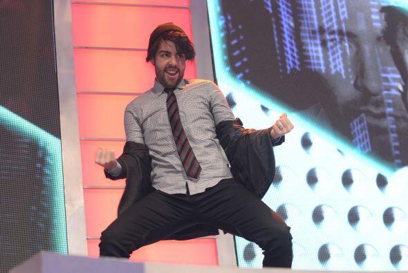 Al inicio de la gala 9, los chicos se divirtieron bailando para el público.