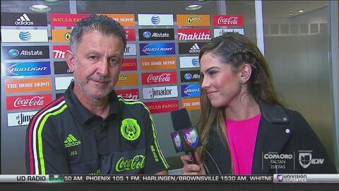 Juan Carlos Osorio señaló lo complicado que fue romper el orden del Team...