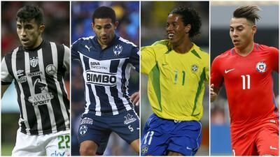 Eduardo Vargas y los campeones de Copa América en la Liga MX