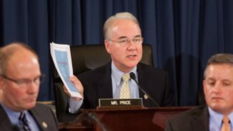 El congresista republicano Thomas Price (Georgia).
