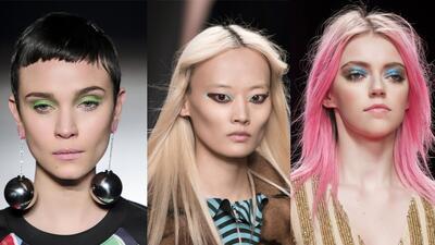 11 propuestas de maquillaje colorido para el otoño