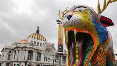 Alebrijes, las monstruosas y artísticas figuras que invadieron la Ciudad de México