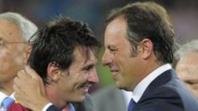 Rosell no ha hablado con Messi de una mejora en su contrato, pero consid...