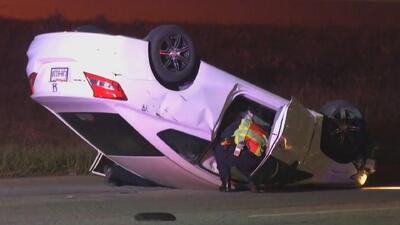 Mujer en presunto estado de intoxicación provocó un aparatoso accidente automovilístico
