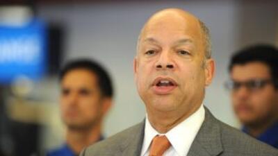 El Secretario de Seguridad Nacional de Estados Unidos, Jeh Johnson.