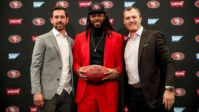 Sherman firmó por tres años y 39 millones de dólares.