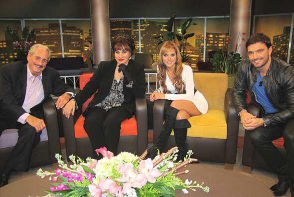 Jorge Lavat, Susana Dosamantes, Vanessa Villela y Julián Gil hablan de s...