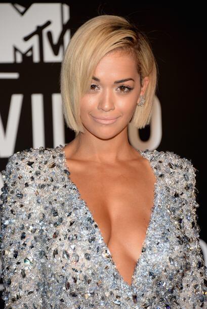 Rita Ora nos dejó impactados por lo linda que se veía con ese nuevo 'loo...