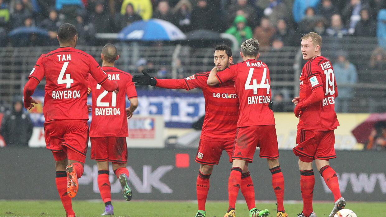 Bayer Leverkusen ganó de visita