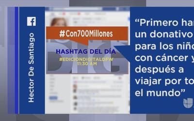 #Con700Millones y otras tendencias en la red