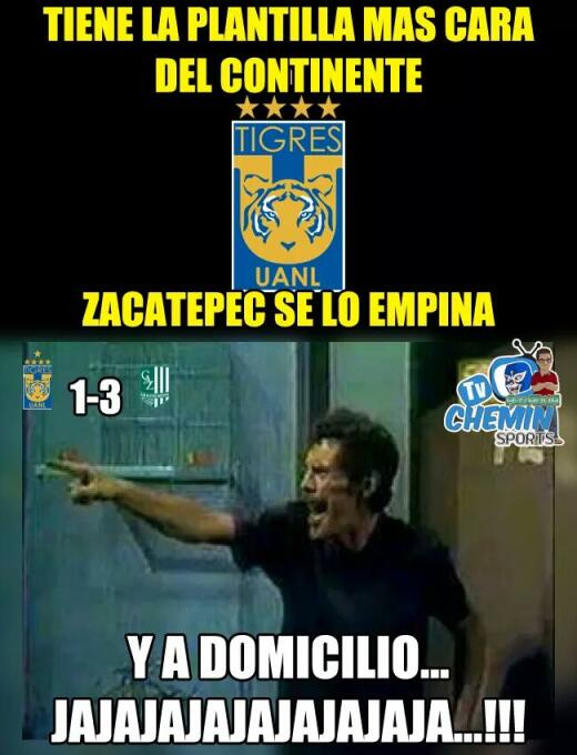 No solo fue Zacatepec, los memes tampoco tuvieron compasión con Tigres W...