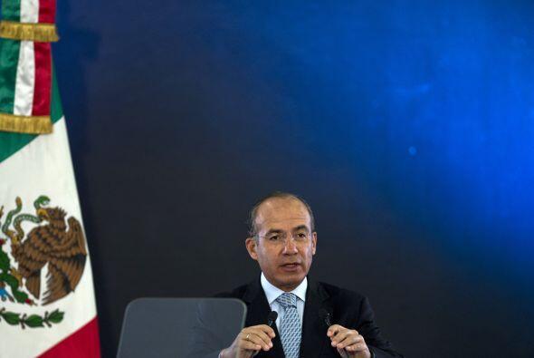 En su mensaje de felicitación, el presidente de México, Fe...