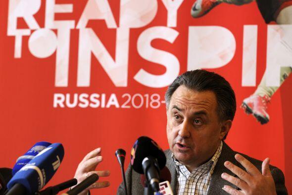 Vitali Mutko, el Ministro de Deportes de Rusia presente en Zurich promoc...