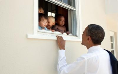 Con esta fotografía tomada en 2011 en Bethesda, Maryland y un fra...