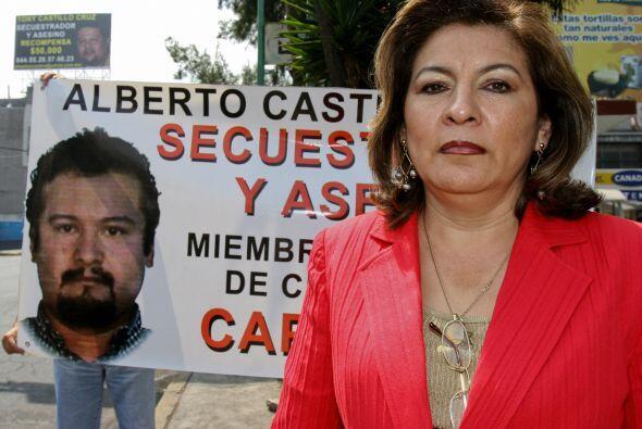 Isabel Miranda Wallace, quien emprendió una campañana desde el 2005 para...