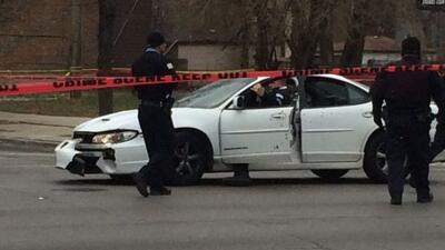 El tiroteo provocó el cierre de la intersección entre las avenidad St.Lo...