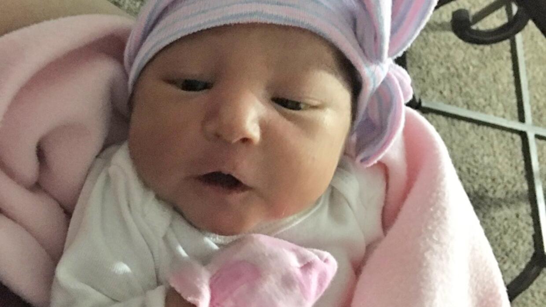 Sophia Victoria González, quien nació el 11 de noviembre,...