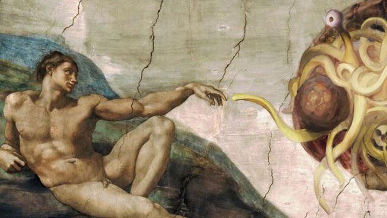 Esta religión profesa el pastafarianismo, entre otras creencias.