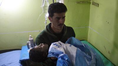 Los niños que sufren el horror de la guerra civil en Siria (FOTOS)