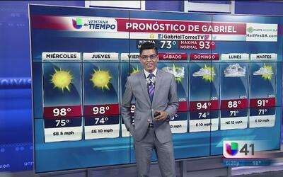 Continúan el clima cálido en San Antonio