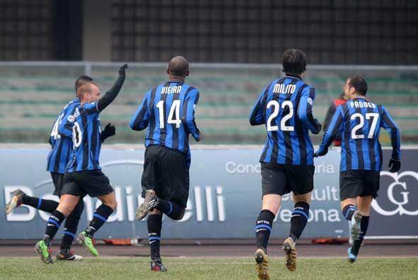 Balotelli se desquitó con el gol del triunfo interista.