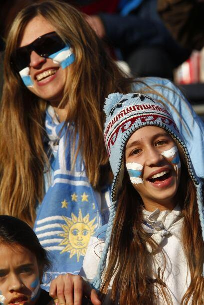 Argentina, con la bandera celeste y blanca, llenó el estadio de La Plata.