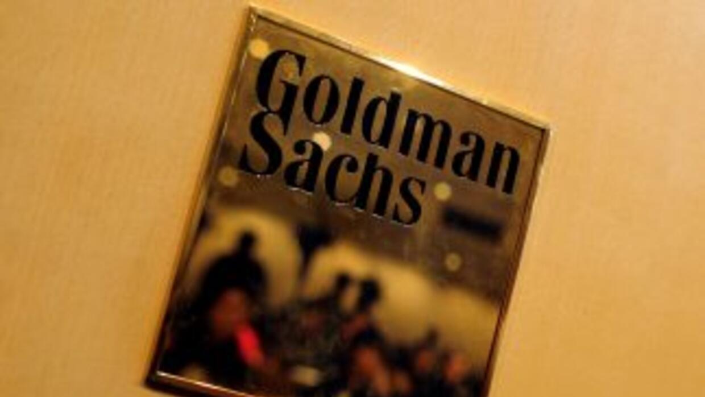 El banco de negocios estadounidense Goldman Sachs dijo en un documento b...
