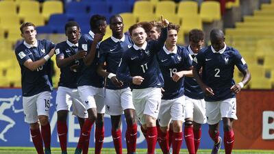 Los Galos fueron el mejor equipo de la fase de grupos del Mundial Sub 17