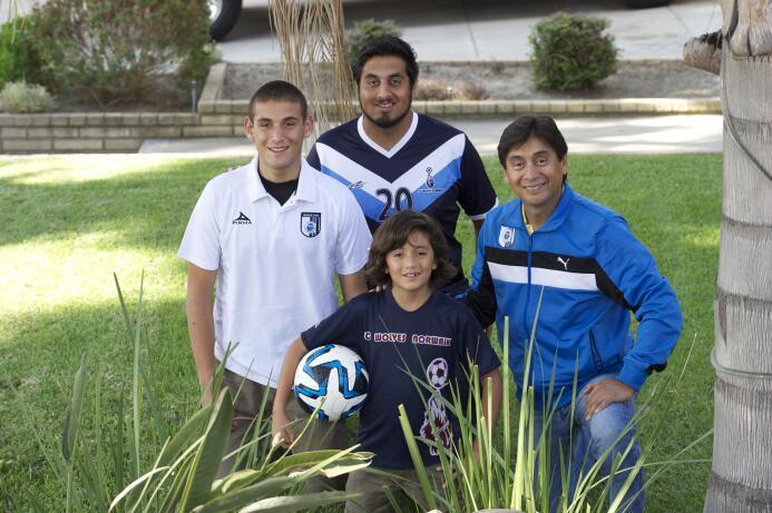 Luis David, Hugo Enrique, Hugo y Víctor Manuel Enciso.