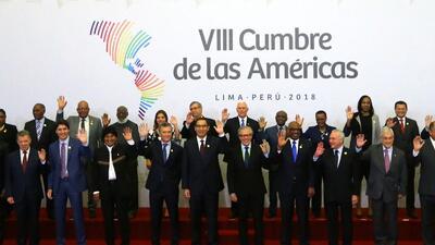 La crisis venezolana y el ataque a Siria, los temas que dominaron la Cumbre de las Américas