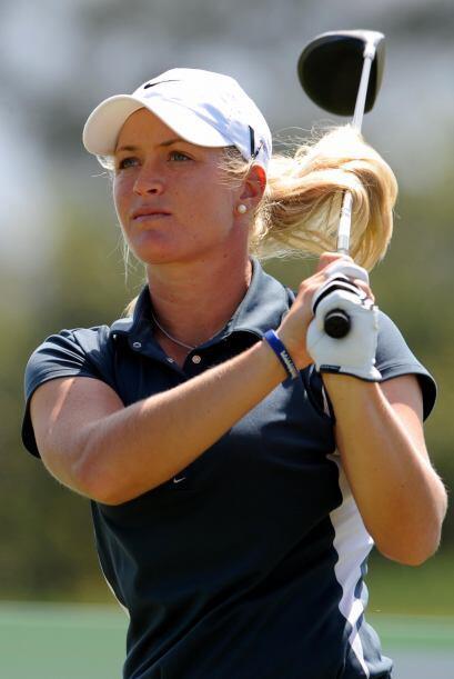 La bella Suzann Pettersen es una golfista noruega que llegó a ser la seg...