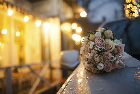 Tu 'bouquet' de novia' también debe combinar con la paleta general que h...
